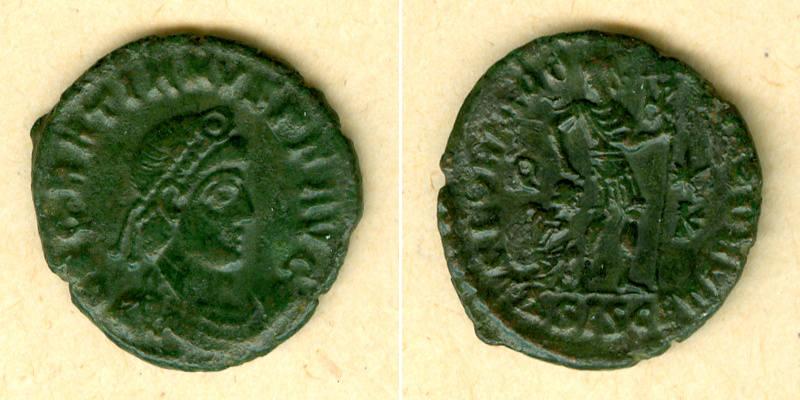 367-375 Gratianus Flavius GRATIANUS AE3 Kleinbronze ss-vz [367-375] ss-vz