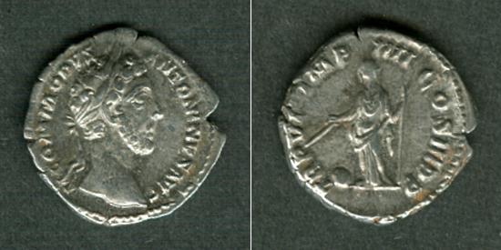 181 Commodus Lucius Aelius Aurelius COMMODUS Denar ss+ [181] ss+