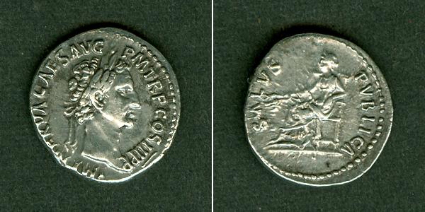 97 Nerva Marcus Cocceius NERVA Denar f.vz [97] f.vz