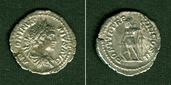 205 Caracalla Marcus Aurelius Antoninus III. CARACALLA Denar f.vz [205] f.vz