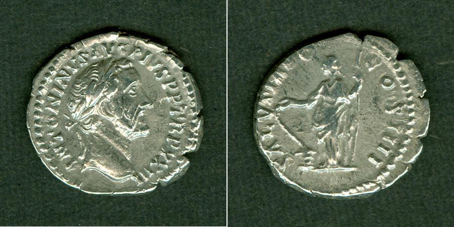 159-160 Antoninus Pius ANTONINUS PIUS Denar ss+ [159-160] ss+