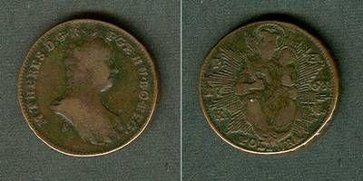 1763 Haus Habsburg Österreich Ungarn RDR Poltura 1763 S s-ss s-ss