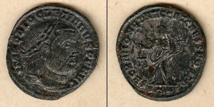 300-303 Diocletianus Caius Valerius DIOCLETIANUS Groß-Follis f.vz [300-303] f.vz