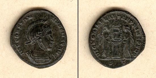 321 Constantinus II. Flavius Claudius Julius CONSTANTINUS II. Follis vz- [321] vz-