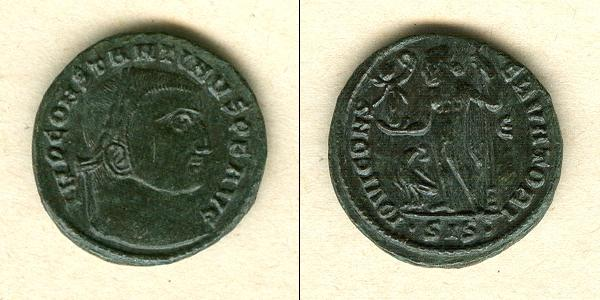 315-316 Constantinus I. Flavius Valerius CONSTANTINUS I. (der Große) Follis vz/f.vz selten! [315-316] vz/f.vz