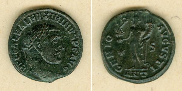 311-312 Maximinus II. Galerius Valerius MAXIMINUS II. Daia Follis ss-vz [311-312] ss-vz
