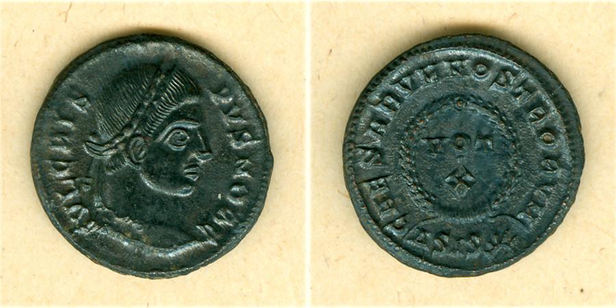 321-324 Crispus Flavius Julius CRISPUS Follis vz [321-324] vz
