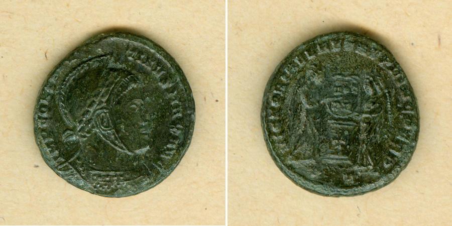 318-319 Constantinus I. Flavius Valerius CONSTANTINUS I. (der Große) Follis f.vz/ss-vz selten! [318-319] f.vz/ss-vz
