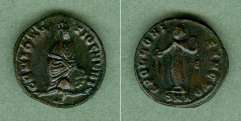 305-313 Maximinus II. Galerius Valerius MAXIMINUS II. Daia Follis f.vz selten [305-313] f.vz