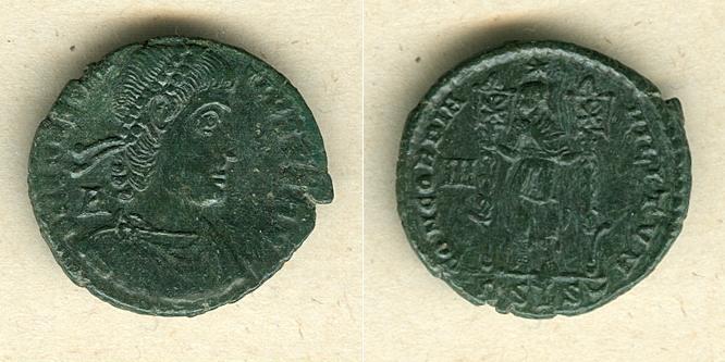 350-351 Constantius II. Flavius Julius CONSTANTIUS II. Maiorina ss-vz/vz- selten [350-351] ss-vz/vz-