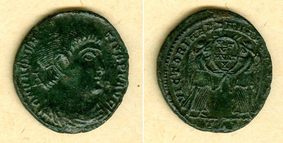 351-352 Magnentius Flavius Magnus MAGNENTIUS Follis f.vz [351-352] f.vz