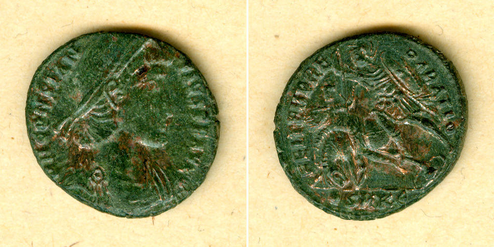 351-354 Constantius II. Flavius Julius CONSTANTIUS II. Maiorina ss-vz/vz [351-354] ss-vz/vz