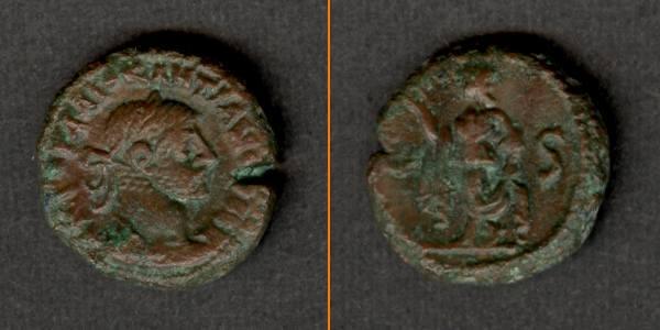 289-290 Diocletianus Caius Valerius DIOCLETIANUS Provinz Tetradrachme ss+ [289-290] ss+