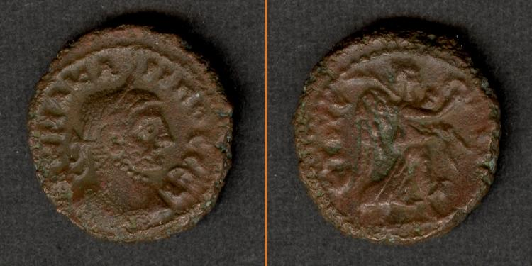 284-285 Carinus Marcus Aurelius CARINUS Provinz Tetradrachme ss-vz [284-285] ss-vz
