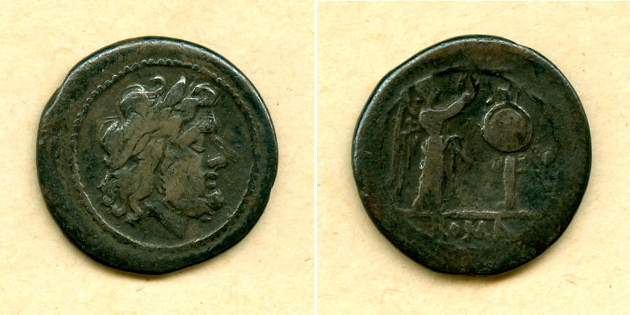 211-208 v.Chr. Römische Republik RÖMISCHE REPUBLIK Victoriat anonym f.ss [211-208 v.Chr.] f.ss