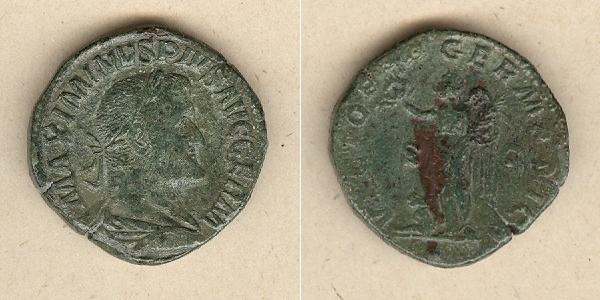 236-238 Maximinus Caius Julius Verus MAXIMINUS I. Thrax Sesterz ss-vz [236-238] ss-vz