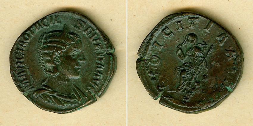 244-249 Otacilia Severa Marcia OTACILIA SEVERA Sesterz vz selten [244-249] vz