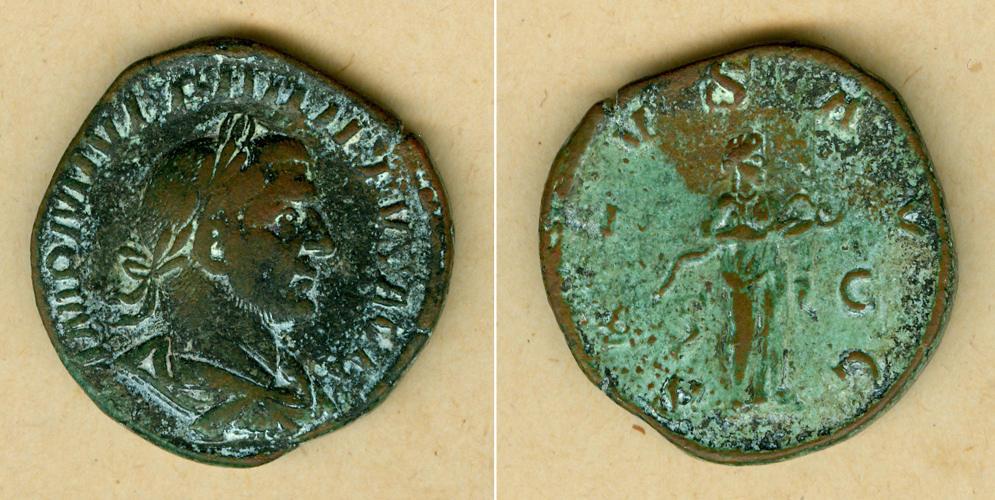 244-249 Philippus I. Marcus Julius PHILIPPUS I. Arabs Sesterz ss+ [244-249] ss+