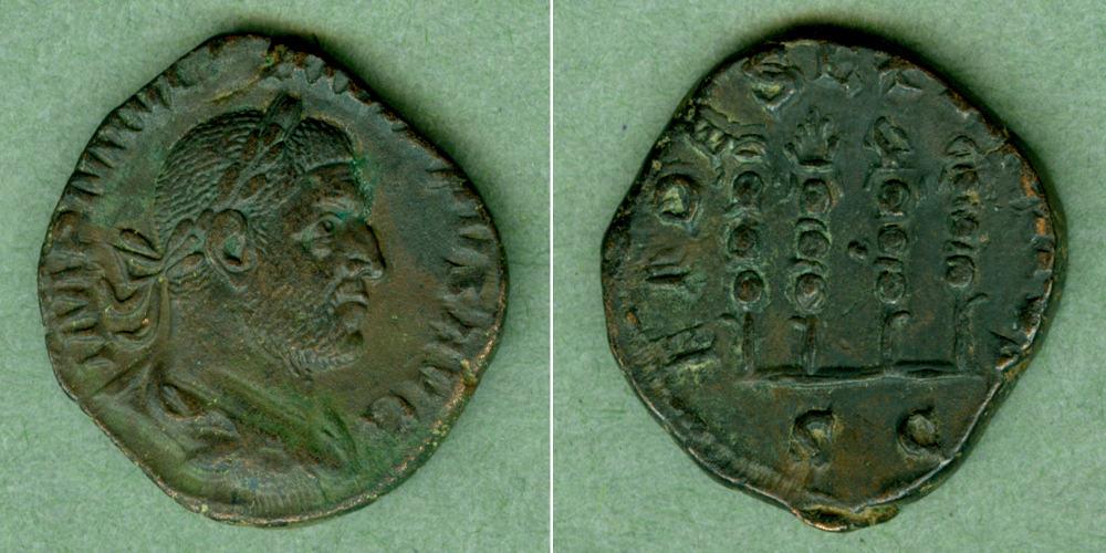 244-249 Philippus I. Marcus Julius PHILIPPUS I. Arabs Sesterz ss-vz [244-249] ss-vz