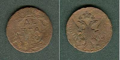 1750 1/2 Kopeke Russland 1/2 Kopeke (Denga) 1750 s s