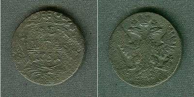 1751 1/2 Kopeke Russland 1/2 Kopeke (Denga) 1751 s s