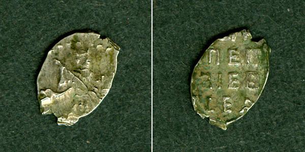 1682-1725 1 Kopeke Russland (Draht-) Kopeke Peter I. s-ss [1682-1725] s-ss