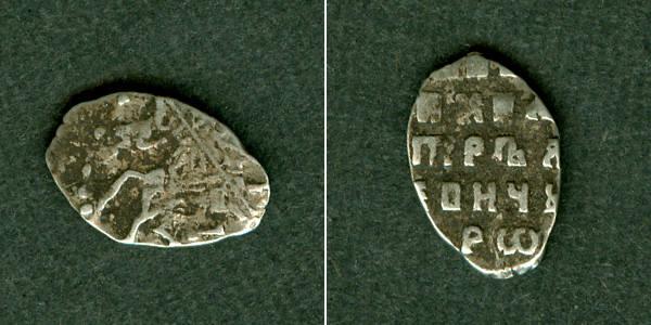 1682-1725 1 Kopeke Russland (Draht-) Kopeke Peter I. f.ss [1682-1725] fast ss