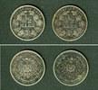 Kleinmünzen 1/2 Mark  Lot:  DEUTSCHES REICH  2x Silber 1/2 Mark 1907 F G  ss+