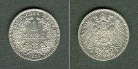 Kleinmünzen 1 Mark  Deutsches Reich 1 Mark 1911 E (J.17)  vz