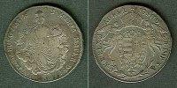 Haus Habsburg  Österreich Ungarn RDR 1/2 Taler 1787 A  ss/ss+