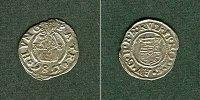 Ungarn  Ungarn Denar 1586 K-B Rudolf II.  ss-vz