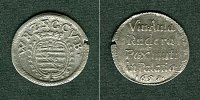 Sachsen-Weimar-Eisenach  Sachsen Weimar 3 Pfennige / Spruchdreier 1651  ss+
