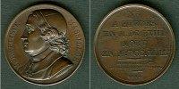 Medaillen und Jetons  Medaille FRANKREICH 1819 J.B. Massillon  BRONZE  vz-stgl.