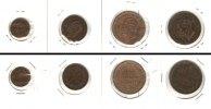 Italien  Lot:  ITALIEN 4x Münzen 1 2 5 Centesimi  [1861-1867]