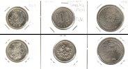 Japan  Lot:  JAPAN 3x Münzen  100 Yen  [1964-1970]