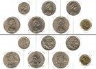 Australien  Lot:  AUSTRALIEN 7x Münzen  10 20 50 Cents 2 Dollars  [1969-1988]