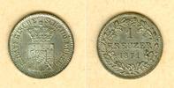 Bayern  Bayern 1 Kreuzer 1871  vz-st