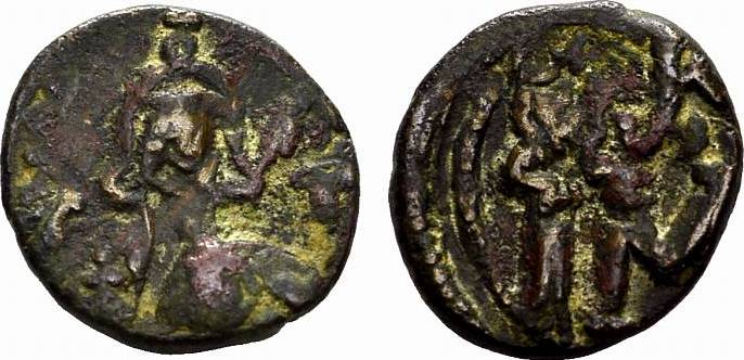Æ-Follis, Karthago. BYZANZ Constantinus IV., 668-685. Fast sehr schön