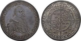 AUGSBURG Taler 1632 geprägt unter schwedischer Bes