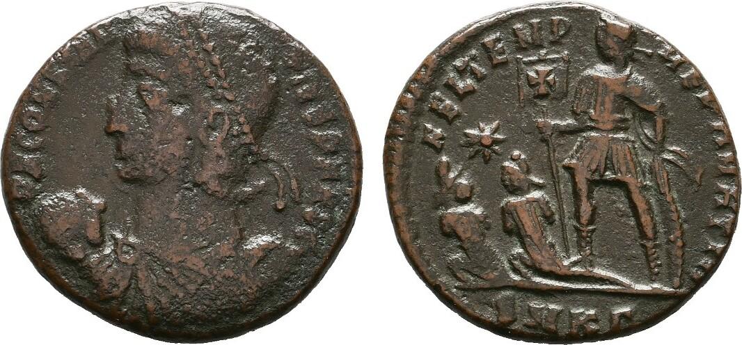 Æ-Centenionalis. RÖMISCHE KAISERZEIT Constantius II., 337-361. Sehr schön.