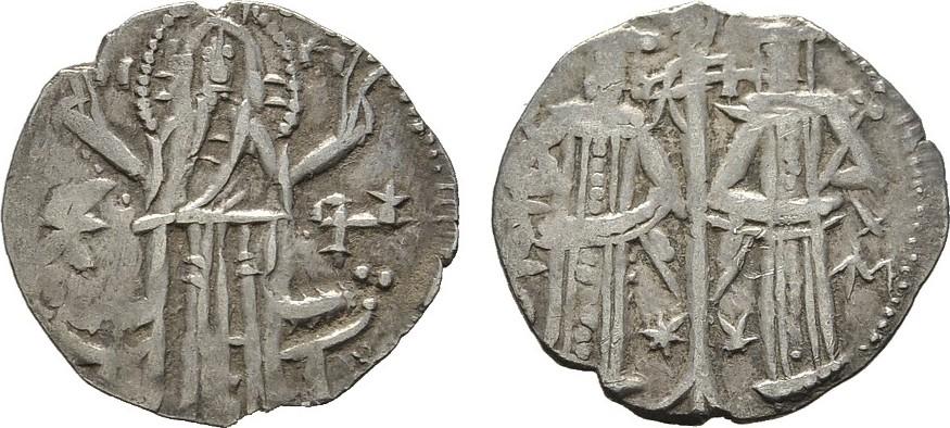 Grosso o.J. BULGARIEN Alexander und Michael, 1331-1355. Sehr schön