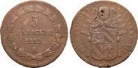 Ku.-5 Baiocchi ANNO VII 1852, Rom. ITALIEN Pius IX., 1846-1878. Kl. Sch... 69,71 CHF  zzgl. 4,83 CHF Versand