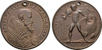 ITALIEN Bronzemedaille (A. Cesati,) Paul III., 1534-1549.