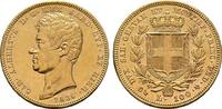 100 Lire 1836, Genua. ITALIEN Karl Albert, 1831-1849. Sehr schön-vorzüg... 2841,86 CHF kostenloser Versand