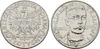 10 Zlotych 1933. POLEN 2. Republik, 1919-1939. Fast Vorzüglich  /  Vorz... 10172 руб 160,00 EUR  zzgl. 286 руб Versand