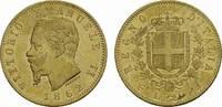 ITALIEN 20 Lire Victor Emanuel II., 1859-1861-1878.