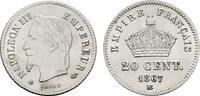 20 Centimes 1867, BB - Straßburg. FRANKREICH Napoléon III, 1852-1870. L... 91,15 CHF  zzgl. 4,83 CHF Versand