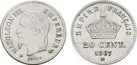 20 Centimes 1867, BB - Straßburg. FRANKREICH Napoléon III, 1852-1870. L... 5404 руб 85,00 EUR  zzgl. 286 руб Versand