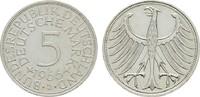 5 DM 1966 J. BUNDESREPUBLIK DEUTSCHLAND  Fast Stempelglanz  14,00 EUR  zzgl. 4,50 EUR Versand