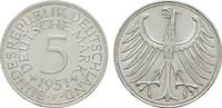 5 DM 1951 F. BUNDESREPUBLIK DEUTSCHLAND  Prägefrisch  45,00 EUR  zzgl. 4,50 EUR Versand